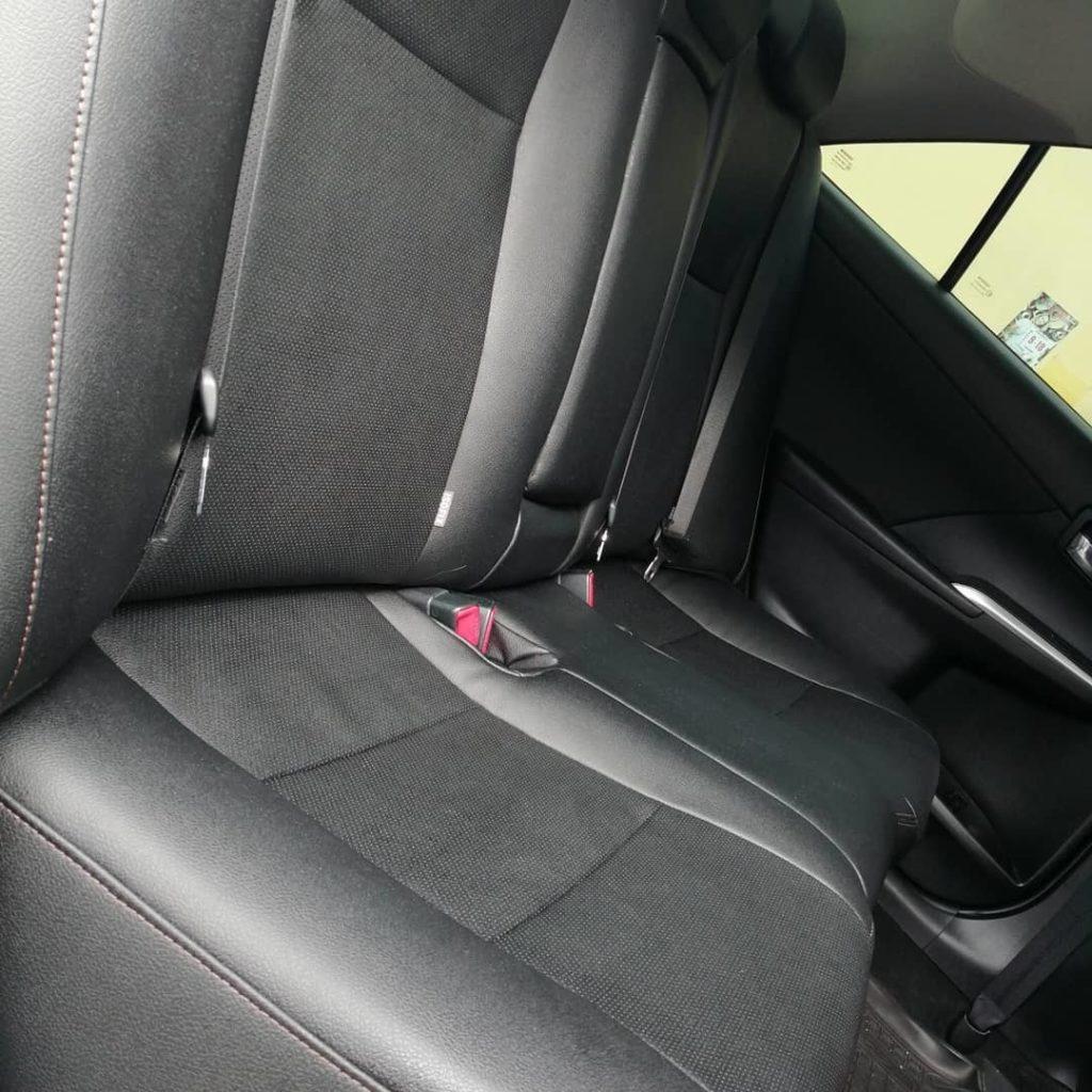 Перетяжка салона Toyota Camry